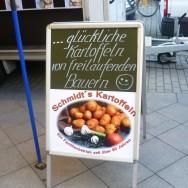 Blije Duitse kartoffelboeren