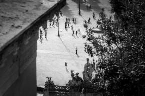 Piazza del Popolo - je bent er nooit alleen